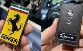 Нищо не казва по-крещящо 'фрашкан съм с пари' от ключа на новото Ferrari Roma