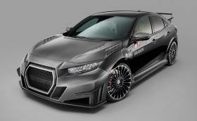 Mugen сложиха решетка от Audi на новата Honda Civic Type R
