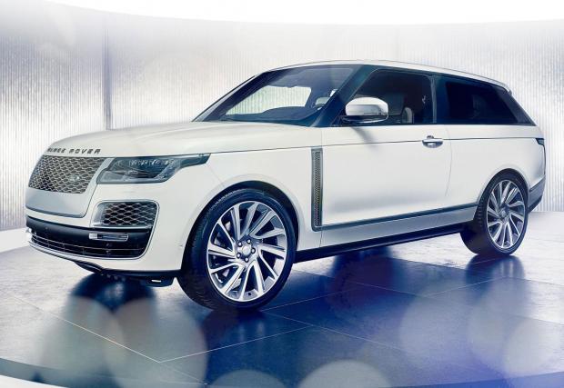 Струващият 275 хил. евро Range Rover SV Coupe ще си остане само прототип