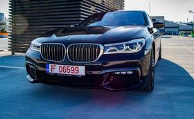 BMW 750Ld, с най-мощния шестцилиндров дизелов двигател в света. Фотосесия