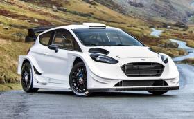 Новият Ford Fiesta WRC е брутален. Развива 380 коня и плаши децата. Галерия 18+