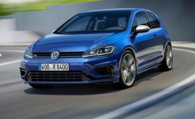 Честита Коледа и честит нов VW Golf R. Най-мощната версия стана още по-мощна. Галерия