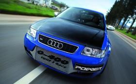 Когато Audi A3-ката ти е по-мощна от Bugatti Veyron Super Sport. Или 1366 коня и зверско ускорение. Галерия и видео
