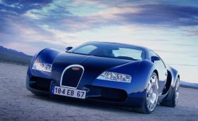 Когато Veyron беше още дете, 1999 Bugatti EB 18/4 Veyron Concept. Припомняме ви прототипa, от който се разви 1000-конното чудовище