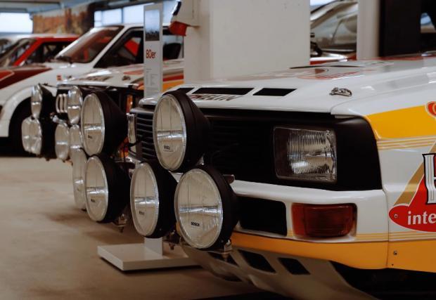 Audi Quattro. История в 22 кадъра