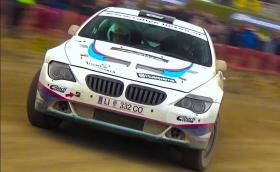 BMW 650i, като бясната рали кола. Съвсем нормално. Галерия и два клипа