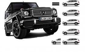 Mercedes-AMG G 65 генерира 630 коня и е 5,5 пъти по-скъп от VW Touareg. Няколко абсурдни факта за модела + галерия