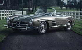 'Made in Western Germany': Mercedes-Benz 300 SL Roadster. Галерия