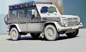 Защо LR Defender умря, а Mercedes-Benz G-Class продължава да живее? Обяснението, плюс мега G-алерия
