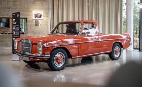 W115 пикап. Дядото на Merc X-Class: Mercedes-Benz 220d W115, стар и готин. Галерия