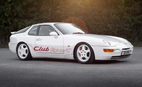 968 Club Sport, най-доброто Porsche с двигател отпред. Галерия