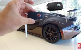 Ключът на струващото над 5,6 милиона лева Bugatti Veyron Rembrandt, е абсолютно същият, като на Skoda Fabia. Най-детайлното видео за Veyron, което някога ще гледате. И галерия