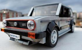 VW Golf GTI от Lego. Мега! Галерия