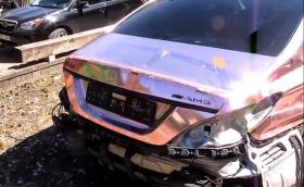 "От купчина розов хром в ""нов"" Mercedes-Benz CLS 500. Галерия и видео"