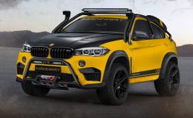 Manhart MHX6 Dirt² Concept е брутализирено X6 M с 900 коня и 1200 Нм. Струва 365 000 евро