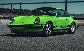 1974 Porsche 911 Carrera. Зелено. И готино. Галерия и респект