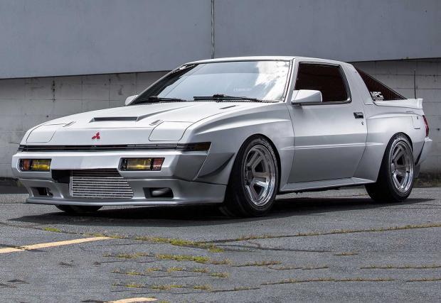 1987 Mitsubishi Starion с мотор Toyota 1JZ. Изкарва 447 коня на задните колела. Галерия и инфо