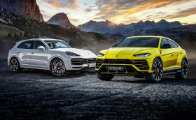 Lamborghini Urus срещу Porsche Cayenne Turbo. Моторът и платформата са идентични? Фактите и галерия