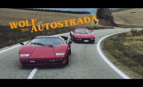 'Wolf of the Autostrada' е супер яко видео, в което Валентино Балбони кара Ferrari