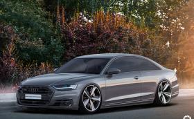 Това Audi A8 Coupe изглежда прекрасно и е правено в Ловеч