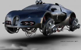 """Летящо Bugatti Veyron, Fiat 500 с перки от хеликоптер и още 17 любопитни """"хибрида"""""""