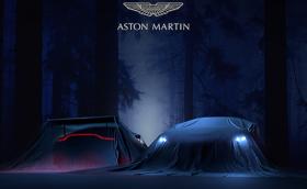 Aston Martin Vantage 2018 се крие под това покривало