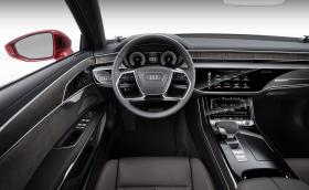 Вижте как новото A8 не се нуждае от шофьор в задръствания. Видео