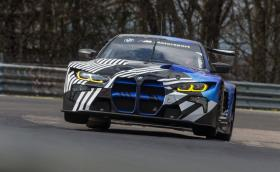 "BMW M4 GT3 тренира на ""Ринга"""""