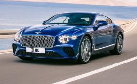Новото Bentley Continental GT. Мощно е 635 коня, вече е с два съединителя, а вътре има 10 квадрата дърво