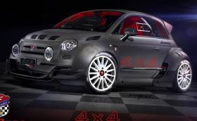 Giannini 350 GP4 е Fiat 500 с тонове мощност и 4х4
