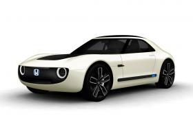 Малка, лека, бърза и евтина – Honda Sports EV concept радва