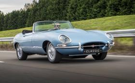 Jaguar E-type Zero Concept е електрически Е-type с 295 коня и 5,5 сек до 100 км/ч. Галерия и видео