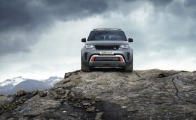 Това е Land Rover Discovery SVX, който не може да бъде спрян