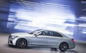 Новата хибридна S-класа е по-икономична от Prius