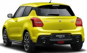 """Suzuki Swift Sport e """"двувратка"""" с 5 врати, 140 коня и маса от скромните 970 килограма"""
