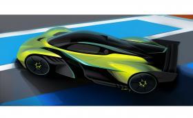 Дръжте се: това е развиващият 400 км/ч пистов Aston Valkyrie AMR Pro