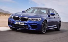 Това е новото BMW M5 F90. Колата е с 600 коня, изключващо се 4x4 и казва чао на двойния съединител
