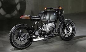 Това BMW R 80 RT е произведение на изкуството: бивш полицейски мотор, преработен от... словенски китарист