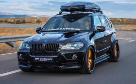 Това вероятно е най-преработеното BMW X5 в България