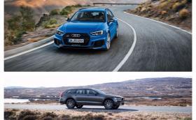 Сравнение на две мега комбита от София 2017: Audi RS 4  vs Volvo V90 CC