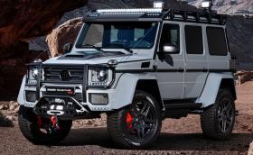 Brabus G 550 Adventure със 137 диода, 550 коня и лебедка. Вдига 210 км/ч и прави 0-100 за 6,7
