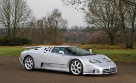 Какво ще кажете за Bugatti EB110 вместо Veyron и Chiron?