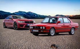 BMW M5: шест поколения и над 30 години история на един от най-бързите седани в света