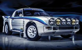 1985 Mazda RX-7 Evo Group B Works е една единствена и никога не се е състезавала