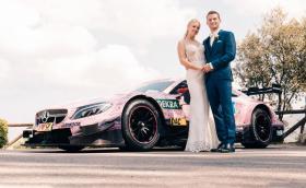 Mercedes-AMG C 63 DTM е перфектният сватбен автомобил