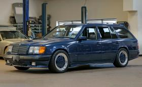 1987 Mercedes-Benz AMG 'Hammer' T-modell с 381 к.с. и 580 Нм. Колата е била дизелова. Видео