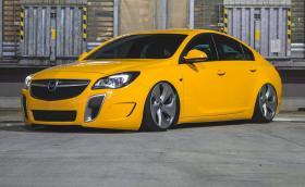 Румънски Opel Insignia OPC сви джантите на X6