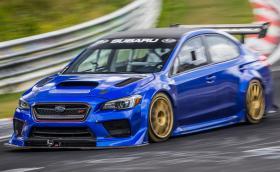 """Subaru WRX STi счупи рекорда на """"Ринга"""". Времето му с 0,5 сек по-слабо от това на Porsche 918 Spyder"""