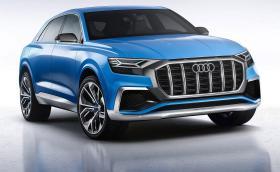 Лазерните матрични LED-ове на Audi Q8 Concept светят с 1 милион пиксела. Галерия, видео и инфо