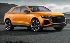 Audi Q8 Sport Concept с две турбини, един ел. компресор и максимална скорост 270 км/ч. Галерия и инфо
